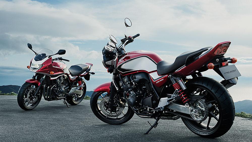 Chiêm ngưỡng cặp đôi Honda CB400SF và CB400SB 2018